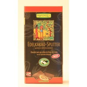 Tablette Chocolat noir bio aux éclats de fèves de cacao