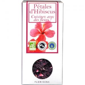 Fleurs à Croquer Bio, Pétales d'Hibiscus