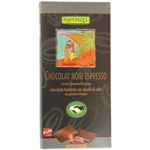 Chocolat Noir Espresso, Bio et Équitable - 80 g