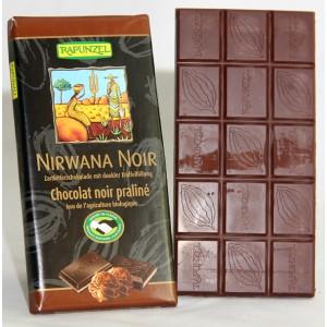 Tablette chocolat Noir bio Nirwana