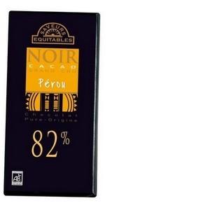 Chocolat noir Origine Pérou 82%